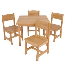 Office Table And Chair Set by Kidkraft Farmhouse Table And 4 Chair Set Hayneedle