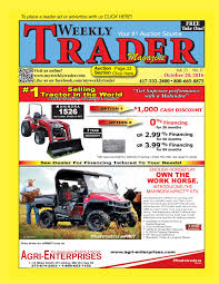 weekly trader october 20 2016 by weekly trader issuu