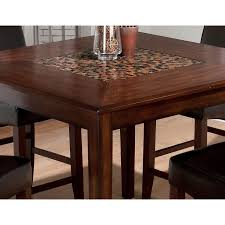jofran baroque end table jofran baroque counter height dining table with mosaic inlay 697