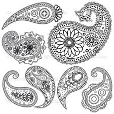 free paisley designs eps vintage paisley patterns for design