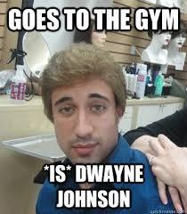Dwayne Johnson Car Meme - cool dwayne johnson car meme goes to the gym is dwayne johnson