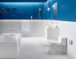 white and blue bathroom 13 inspirational exles of blue and white bathrooms contemporist