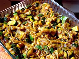 recettes cuisine sans gluten crumble de courgettes sans lait sans blé ecole de cuisine
