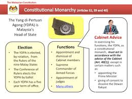 Role Of Cabinet Members Constitution Of Malaysia Wikipedia