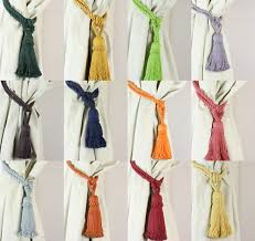 How To Use Curtain Tie Backs Curtain Tie Back Pins Decorate The House With Beautiful Curtains