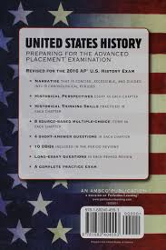 united states history preparing for the advanced placement