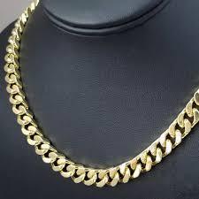 mens cuban link necklace images Accessories mens cuban link gold chain hip hop short style jpg