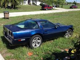 c4 corvette targa top 1985 chevy corvette c4 with spare rims tires and targa top for