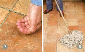 how to maintain terracotta floor tiles period living