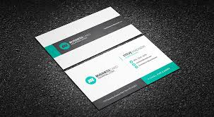 subtle geometric corporate business card template