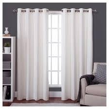 White Darkening Curtains Bedroom White Curtains Walmart Light Blocking Drapes Room