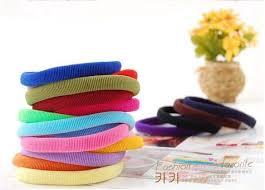 hair rubber bands online shop wholesale colored elastic headbands hair rubber bands