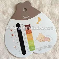 thermomètre mural chambre bébé personnalisé liquide échelle de cristal chambre de bébé