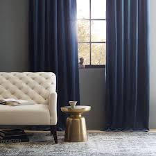 Navy Curtain Popular Of Navy Velvet Curtains And Velvet Pole Pocket Curtain