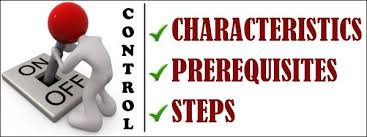 controlling definition control in management characteristics prerequisites steps in