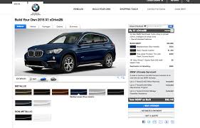 2016 Bmw X1 Configurator Goes Online Prices Start At 35 795