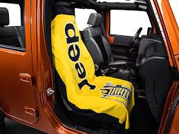 seat covers jeep wrangler seat armour wrangler towel 2 go yellow t2gyellow 87 17 wrangler