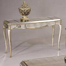 Mirrored Console Table Furniture Alluring Modern Mirrored Console Table Design With