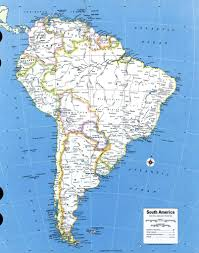 Bariloche Argentina Map Maps Of South America And South American Countries Political