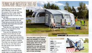 Sunncamp Cardinal Awning Trade Reviews