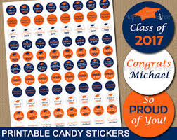 Candy Labels For Candy Buffet by Graduation Candy Buffet Labels Glitter Graduation Labels