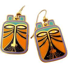 laurel burch jewelry vintage laurel burch toshio enamel earrings river road