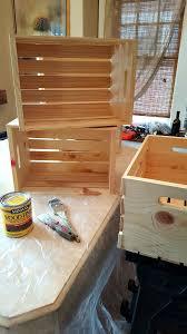 diy wooden crate shoe rack live from julie u0027s house