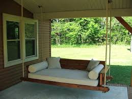 patio bench swing outdoor bed front porch best ways to relax