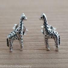 giraffe earrings s giraffe earrings ebay