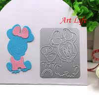 Mickey Mouse Photo Album Aliexpress Com Buy Large Height Alphabet Metal Cutting Dies
