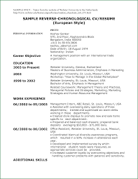 Functional Resume Template Examples Chronological Resume Sample Combination Resume Using