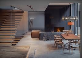 4 gorgeous homes with matte black walls living room designs