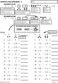 adding two terms integers worksheets math aids com pinterest
