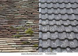 Terracotta Roof Tiles Two Stock Images Royalty Free Images
