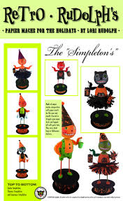 Halloween Candy Craft Ideas by 37 Best Lori Burke Retro Rudolph Images On Pinterest Vintage