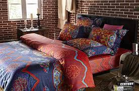 Moroccan Bed Linen - amazon com cliab boho bedding bohemian bedding moroccan bedding