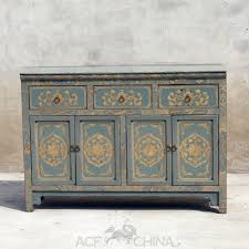 Antique Painted Sideboard Touch Of Exotic