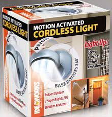 Motion Activated Cordless Light Outdoor Cordless Motion Light Motion Activated Light Shoptv