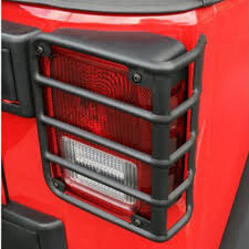 jeep wrangler brake light cover tail light cover trim guards protector fit 2007 2017 jeep wrangler