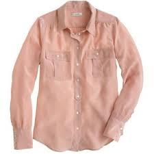 j crew blouses j crew blythe blouse in silk polyvore