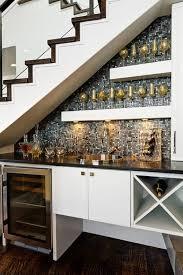 Under Stair Bar by Mini Bar Under Stairs Design