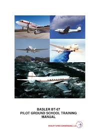 basler bt 67 systems training manual gas compressor cockpit