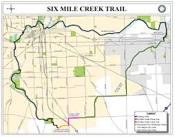 Map Of Indiana Counties Trails Expand With Six Mile Creek Trail In Southern Fort Wayne