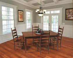 Shaker Style Dining Room Furniture Amish Shaker Style Dining Table