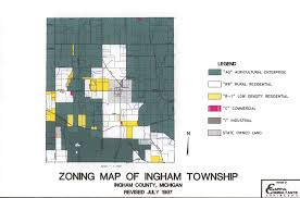 Michigan Burn Permit Map by Ingham Township U003e Home