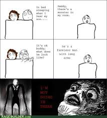 Slenderman Memes - first comment dies by slender man meme by rainbowdash1 memedroid