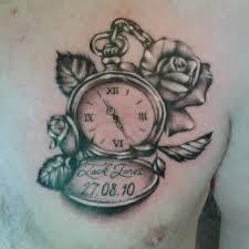 the 25 best grandfather clock tattoo ideas on pinterest