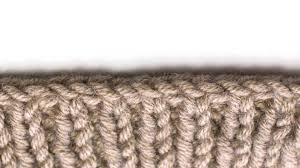 how to knit the bias bind off new stitch a day