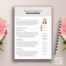creative resume templates for mac creative resume template cover letter word modern simple free 201
