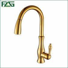 online get cheap mixer tap shower attachment aliexpress com flg kitchen faucet pull out deck mounted pull swivel 360 degree rotating cold and hot tap